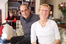 The happy couple 2012