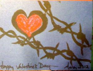 Barbed Wire Valentine 2012